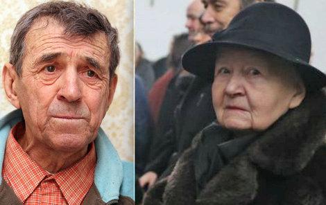 Miluše Holomková zavzpomínala na svého exmanželka. Trápení, které na konci svého života prožil, podle ní bylo hrozné.