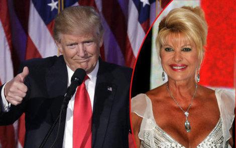 Donald Trump je podle Ivany superplodný muž.