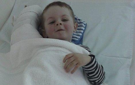 Statečný Nicolas má za sebou dvě těžké operace mozku.