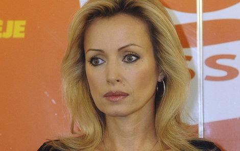 Herečka Kateřina Brožová
