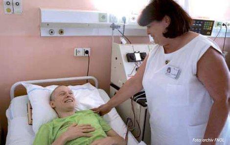V nemocnici podstoupil Petr třikrát chemoterapii.