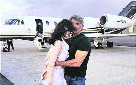 Faltýnová se svým americkým miláčkem Davidem