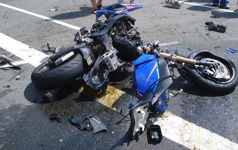 Motocyklisté jsou častými oběťmi dopravních nehod.