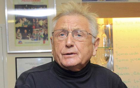 Oscarový režisér Jiří Menzel.