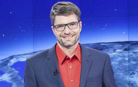 Moderátor Michal Jančařík.