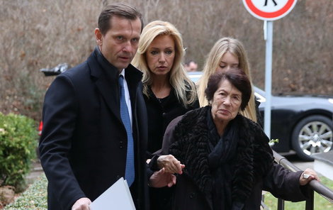 Jaromír Soukup pečoval o Kateřininu maminku Jelenu.
