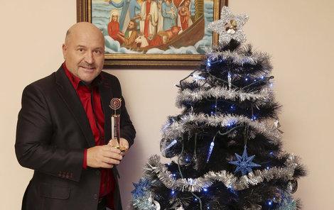 Svátky u Davidů prožívají klidně, hlavně kvůli vnukovi Sebastianovi.