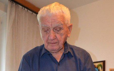 Generál Emil Boček má stále energie na rozdávání.
