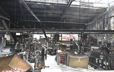 Při požáru se zranil jeden člověk.