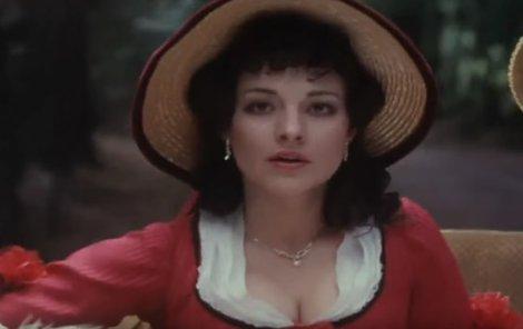 Dana Bartůňková v roli princezny Angeliny v pohádce S čerty nejsou žerty.