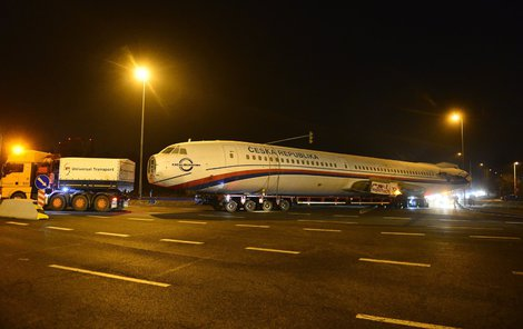 Letoun Tupolev TU-154M byl ve službách Armády ČR v letech 2000 až 2007.