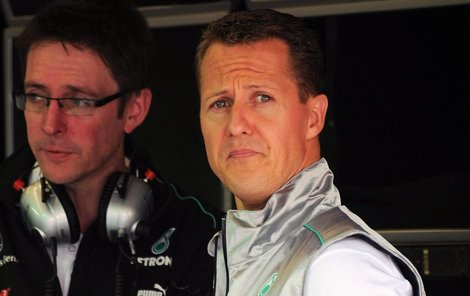 Neznámý nabízí tajnou fotku Schumachera za 27 milionů korun!