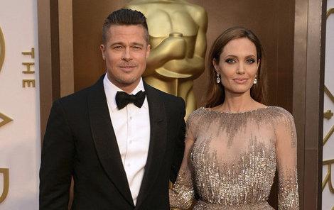 Oscarový večer z roku 2014 – Pitt a Jolie se prý rozešli už tehdy!