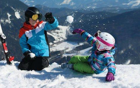 Na horách si užijete plno zábavy!
