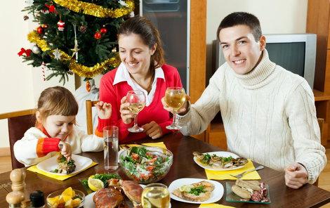 Na štědrovečerním stole nemusí být nutně jen kapr.