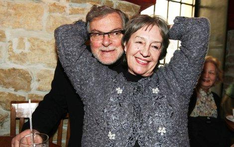 2006. Manželé Nina Divíšková a Jan Kačer před deseti lety.