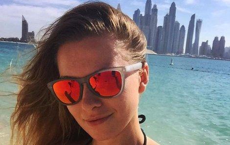 Inna vytvořila v Dubaji erotické panorama.