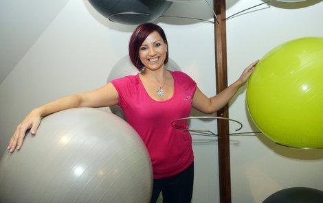 Kvůli problémům se zády se začala věnovat cvičení balantes. Více se dozvíte na jejích webových stránkách: www.michaelasd.cz