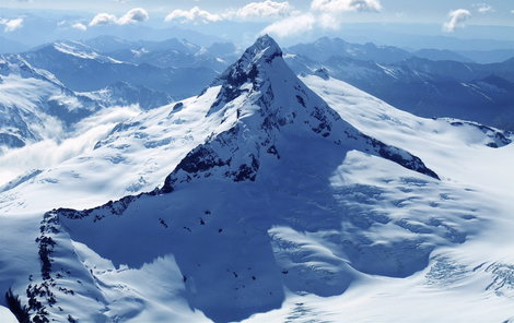 Zrádná hora Mount Aspiring.
