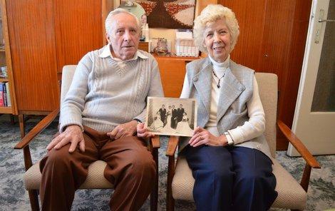 Jaroslav a Bohuslava Radovi spolu žijí svorně neuvěřitelných 65 let.