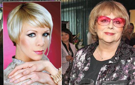 Naďa Urbánková měla velký strach o dceru Janu Fabiánovou.