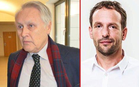 Energetik Jiří Lukeš a ostravský primátor Tomáš Macura.
