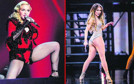 Madonna a Jennifer Lopez.
