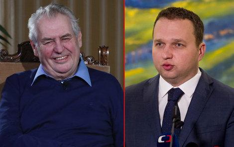 Ekonomickými analfabety nazval Miloš Zeman některé ministry.