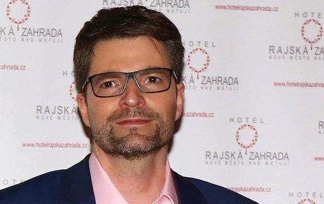 Michal Jančařík strávil Vánoce doma s rodinou, pomohla mu manželka Diana.
