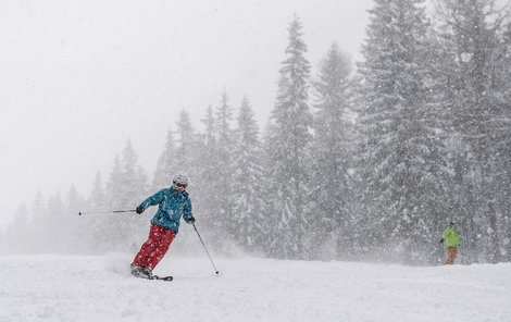 Na horách bude chumelit a lyžaři se mohou těšit na nový sníh.