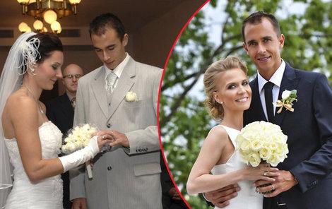Lukášova první a druhá svatba. Momentálně to vypadá, že tenista bude potřebovat ještě třetí pokus.