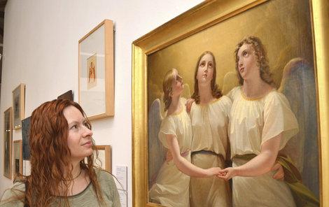 Andělé, jak je vidí výtvarníci.