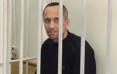 Michail Popkov ve své cele.