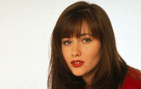 Shannen Doherty alias Brenda z Beverly Hills 90210.