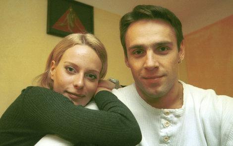 Kristina Kloubková randila s hercem Romanem Vojtkem.