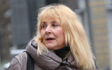 Veronika Gajerová pohřbila svou matku.