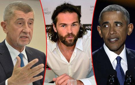 Babiš se kvůli Jágrovi opřel do Obamy.