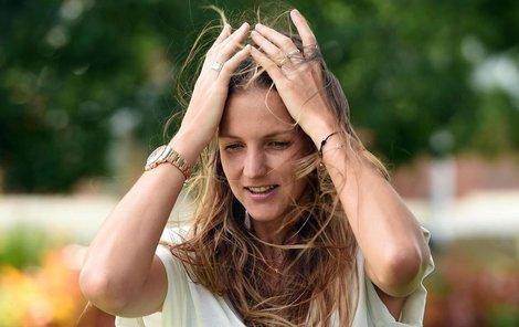 Karolína Plíšková si v Austrálii zvyká na postavení tenisové hvězdy