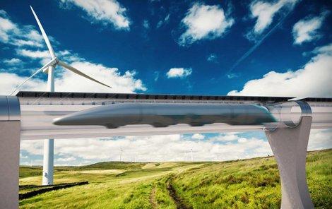 »Dálnice« hyperloopu se nebude dotýkat země.