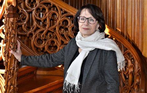 Ivana žije na zámku Lednice téměř 40 let.