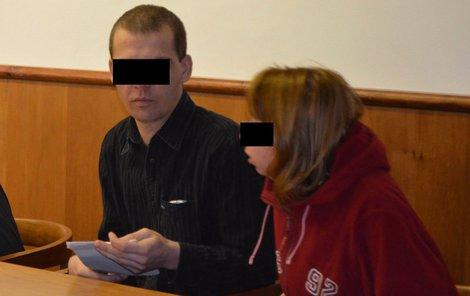 Roman R. s přítelkyní Jindřiškou, která byla u útoku.
