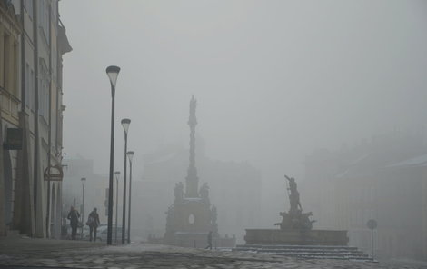 Smog trápí Česko.