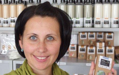Přírodní mýdla začala Michaela Vaněčková vyrábět nejprve doma v kuchyni.