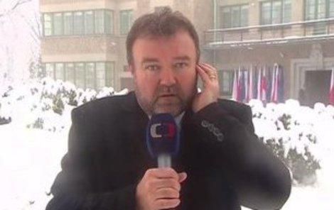 Miroslav Karas z ČT zažil před vysíláním hned několik katastrof.