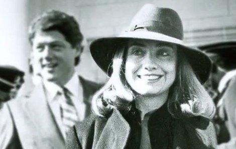 Bill Clinton a jeho žena Hillary