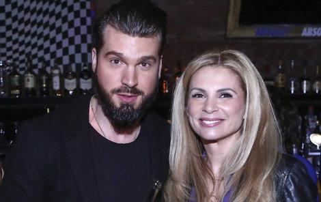 Exmanželka Romana Vojtka Tereza Vojtková a Jakub Malina.
