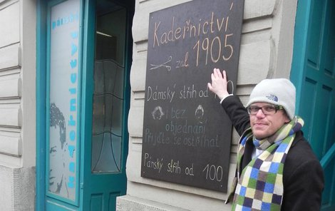 U Mazánků se stříhá už od roku 1905. I proto oficínu Tomáš Papírník koupil.