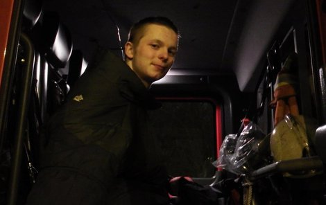 David Kovrzek (18) zachránil bruslaři život.