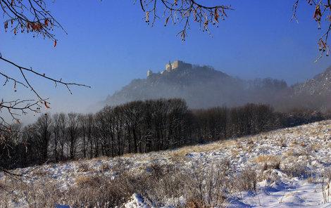 Hrad Buchlov se stal nedobytnou pevností.