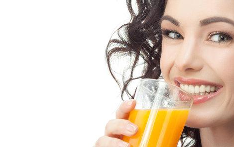 Superpotraviny můžete přijímat i ve formě džusů či šťáv.